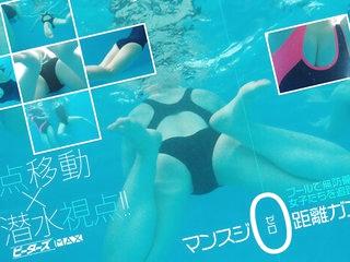 Schoolgirl Pool Diving VR Part 2 - PetersMAX