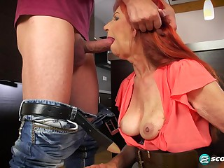 Charlotta's anal premiere - 60PlusMilfs