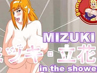 Undergo responsibility for Collateral to Have sex - Mizuki not far from a catch Shower