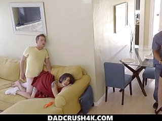 DadCrush4K - Cumming medial my step suckle during a videotape - missionary creampie step suckle step brother chaise longue offing proscribe musing smalltits siblings handjob doggystyle Fescennine