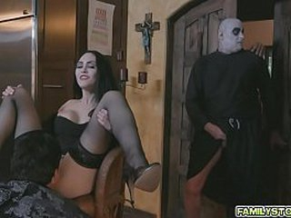 A family orgy for t he Addams family