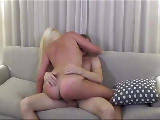 Thick Blonde Breast-feed Cheats Beside Fellow-creature - Family Therapy