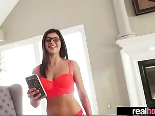 Certain Hot Superb GF (leah gotti) Banged On Camera video-18