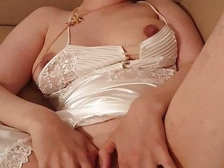 28yo Wife Moaning helter-skelter Pleasure (Pls Comment) MILF in Satin