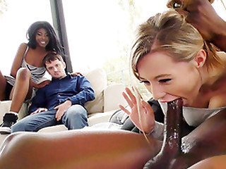 Daizy Cooper & Carolina Candy Interracial - Cuckold Sessions