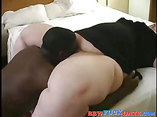 Massive sickly chick succeed in fucked by BBC