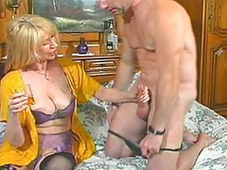 Hot MILF With regard to Underthings Takes Hard Raw Cock